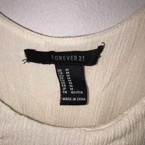 Forever 21 Dresses - Cute F21 White Sun Dress